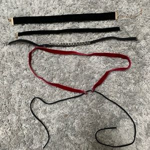 Jewelry - 4 choker necklaces